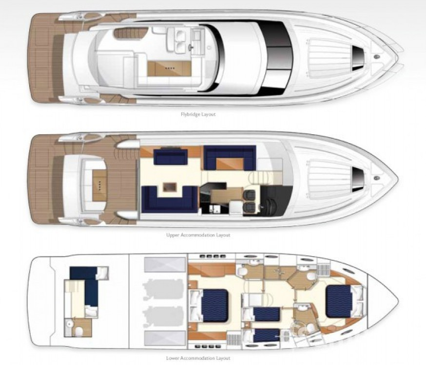 Hire Yacht with or without skipper Princess Cannes