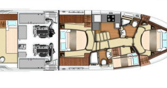 Azimut 19 between personal and professional Cannes