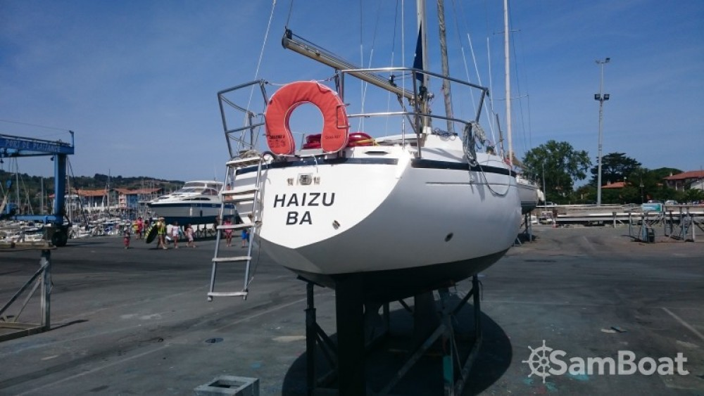 Hire Sailboat with or without skipper Dufour Hendaye