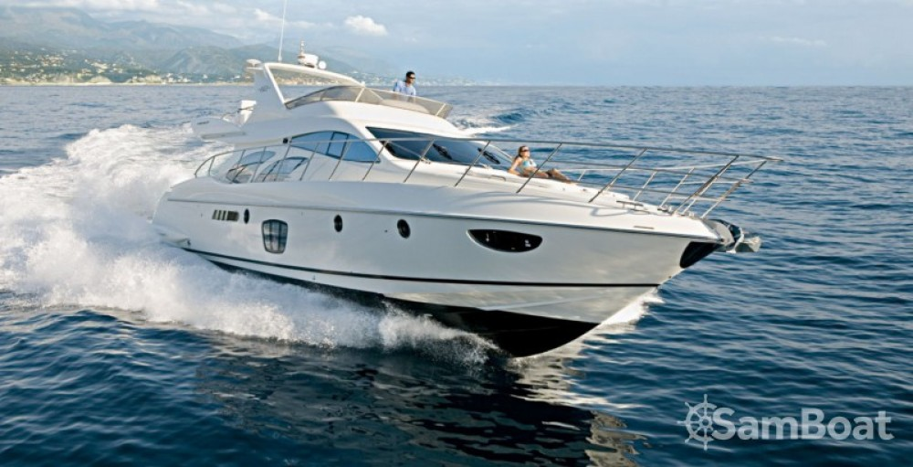 Hire Yacht with or without skipper Azimut Cannes