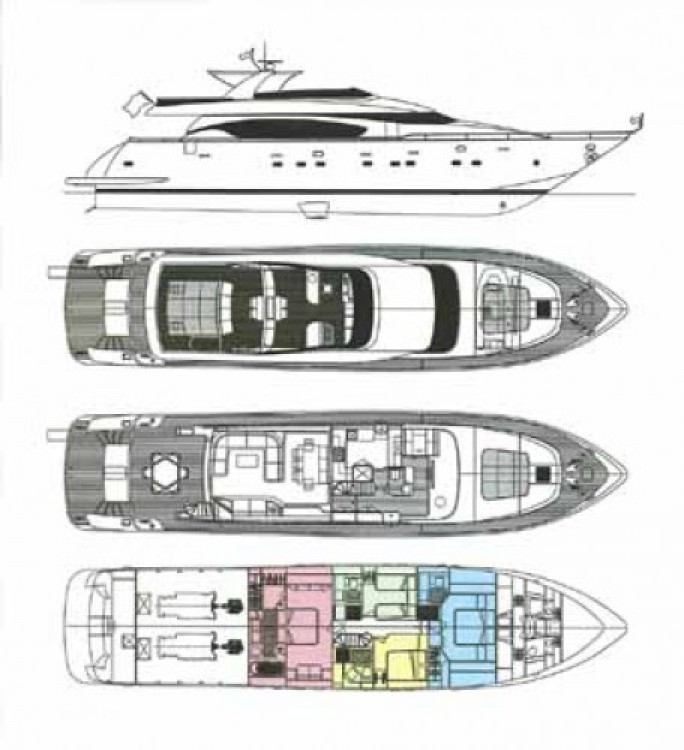 Maiora 28 between personal and professional Saint-Tropez