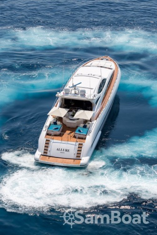 Mangusta 31.4 between personal and professional Saint-Tropez