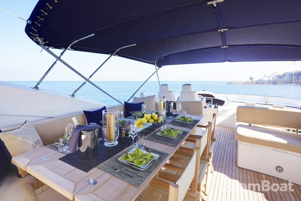Sunseeker 28 between personal and professional Saint-Tropez