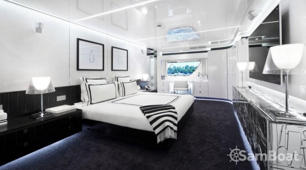 Rental Yacht Arcadia with a permit