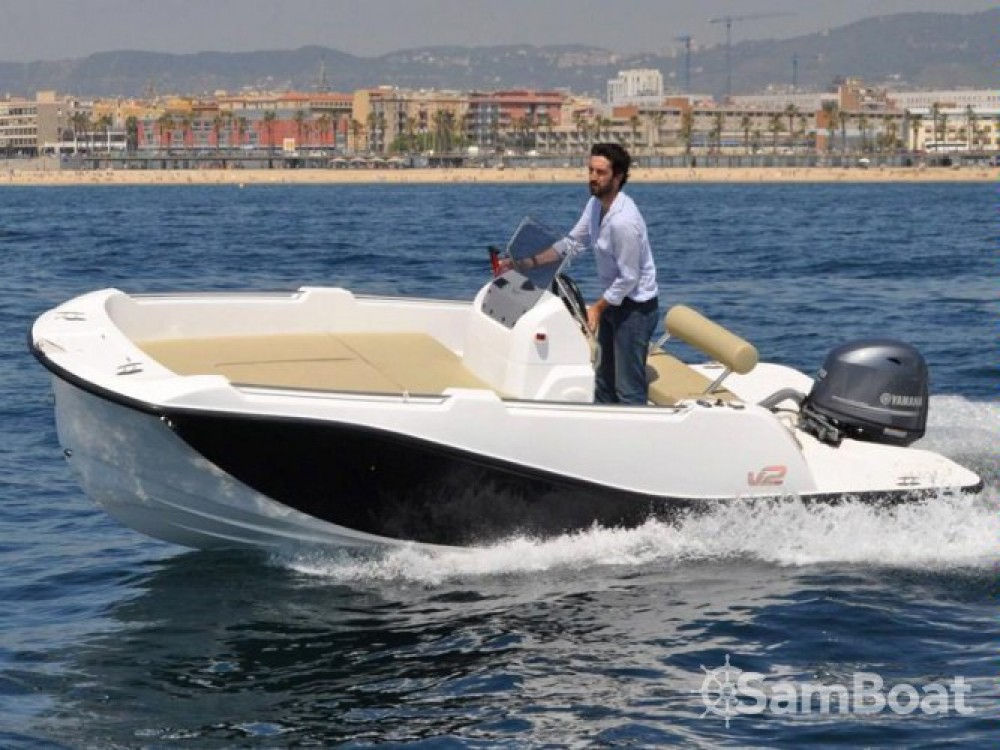 Rental Motorboat V2-Boat with a permit
