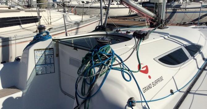 Rental Sailboat in La Trinité-sur-Mer - Archambault Grand Surprise