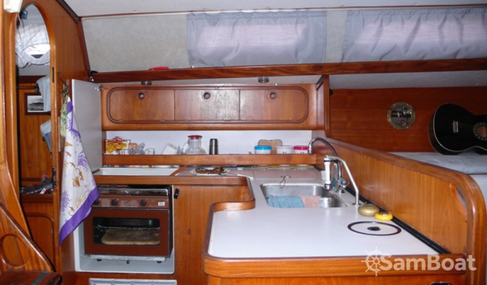 Gibert Marine Gib Sea 442 between personal and professional Lipari