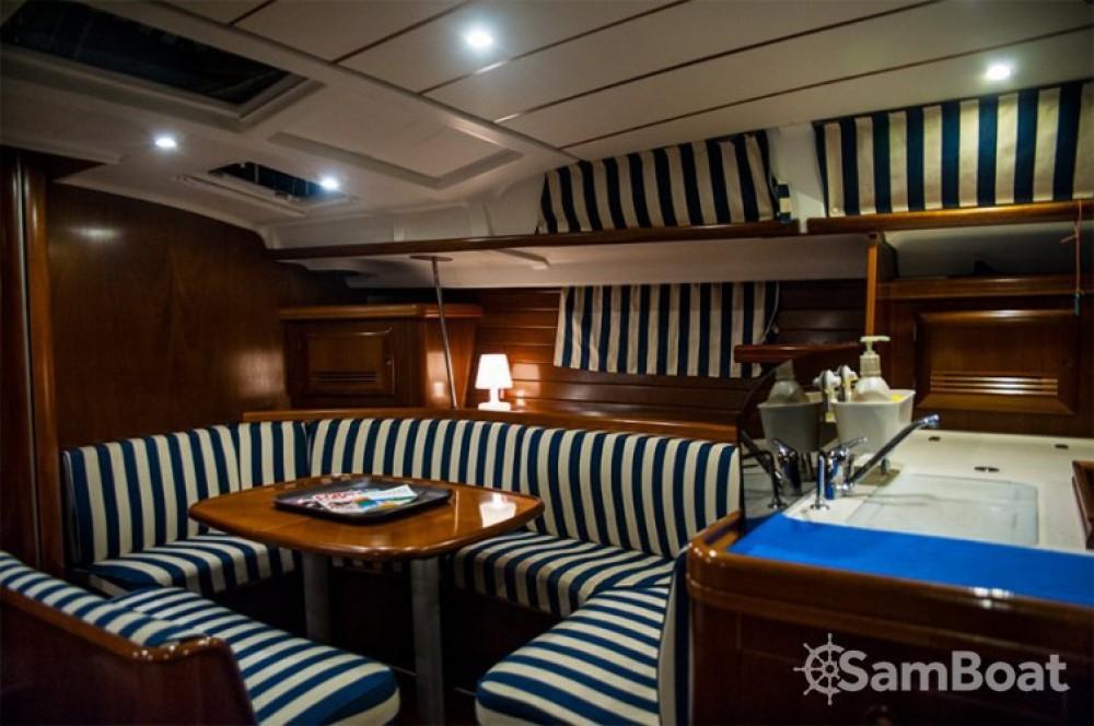 Boat rental Barcelona cheap Oceanis 473