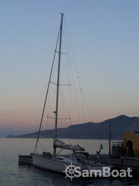Hire Sailboat with or without skipper Comar Lipari