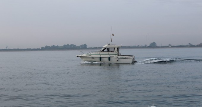 Motorboat for rent Valencia at the best price
