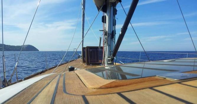 """Rental Sailboat in Lipari - Comar COMET 62"""" RS"""