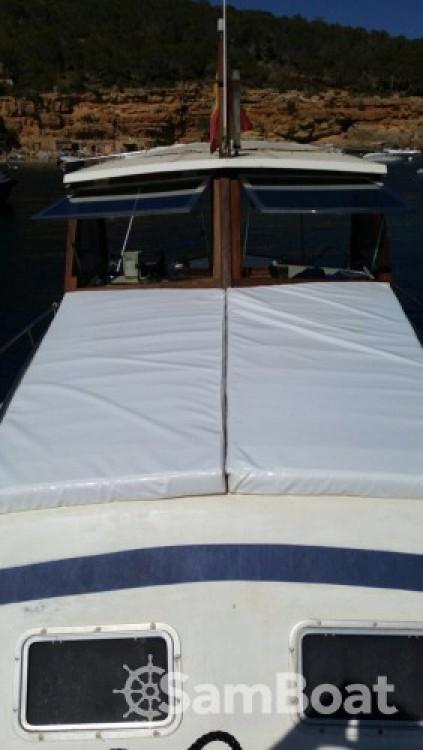 Boat rental Balearic Islands cheap Llaut copino 44