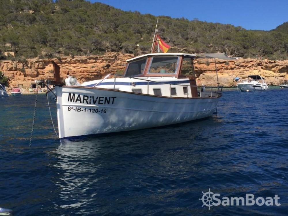 Rent a Copino Llaut copino 44 Balearic Islands