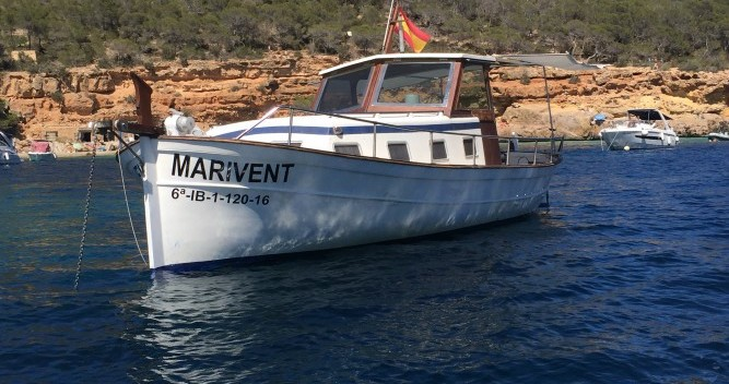Boat rental Copino Llaut copino 44 in Cala Tarida on Samboat