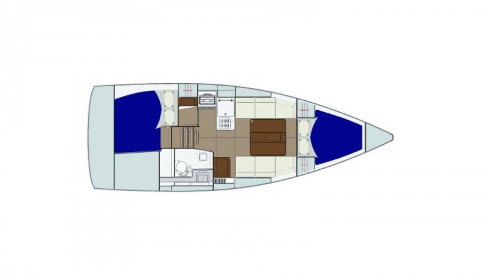 Boat rental Dufour Dufour 310 Grand Large in La Rochelle on Samboat