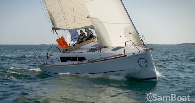 Dufour Dufour 310 Grand Large between personal and professional La Rochelle