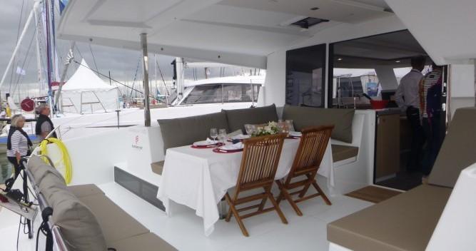 Rental yacht Les Trois-Îlets - Fountaine Pajot Lucia 40 on SamBoat