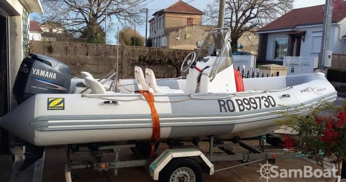 Rental yacht Pornic - Zodiac Pro Open 550 on SamBoat