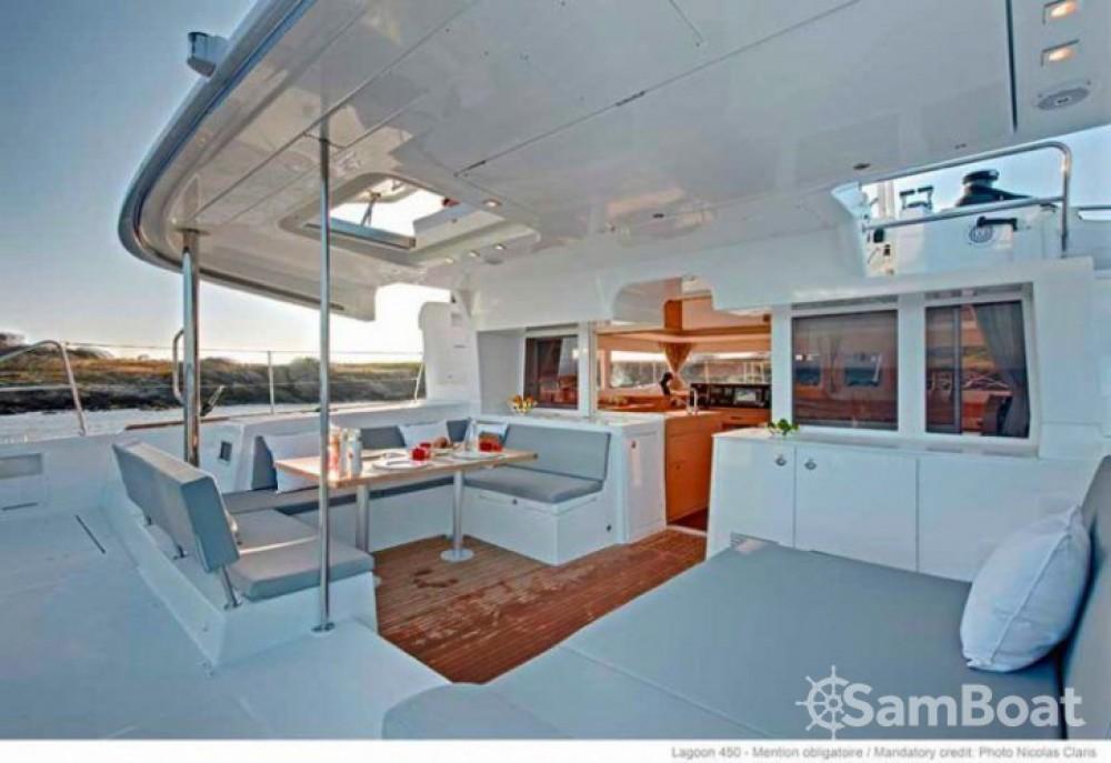 Rental Catamaran in Le Vauclin - Lagoon Lagoon 450