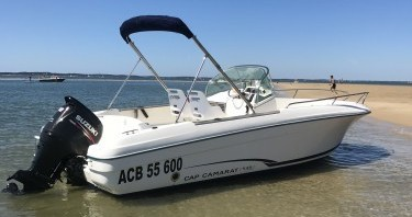 Boat rental Arcachon cheap Cap Camarat 625