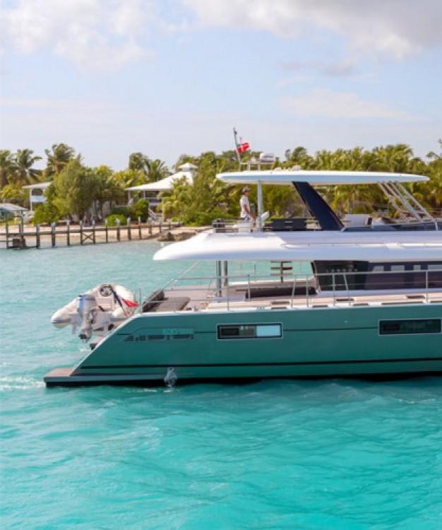 Boat rental Mykonos cheap Lagoon 630 Motor Yacht