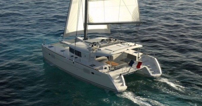 Rental Catamaran Cnb with a permit