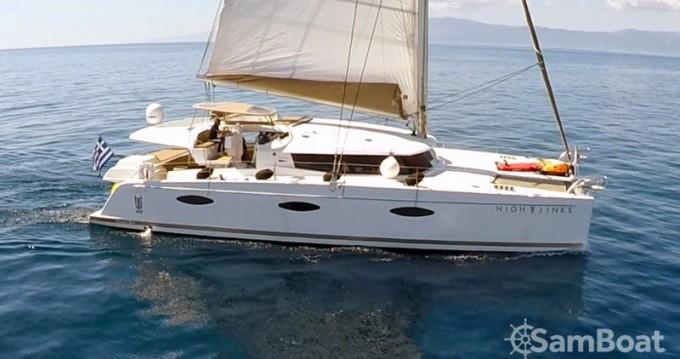 Rental Catamaran in Athens - Fountaine Pajot Berret