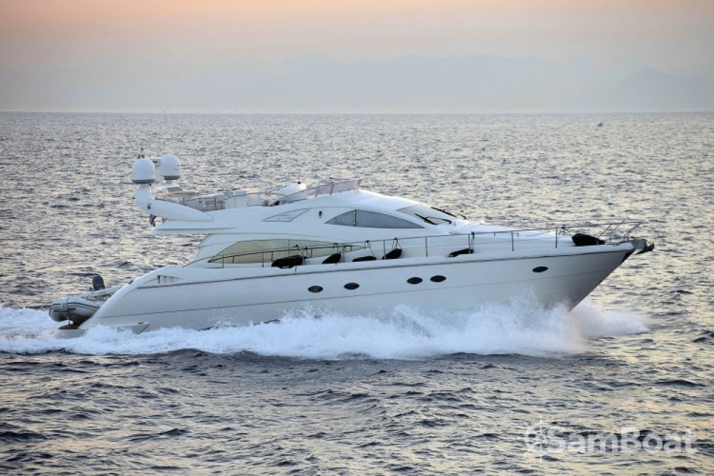 Aicon yacht between personal and professional Athens