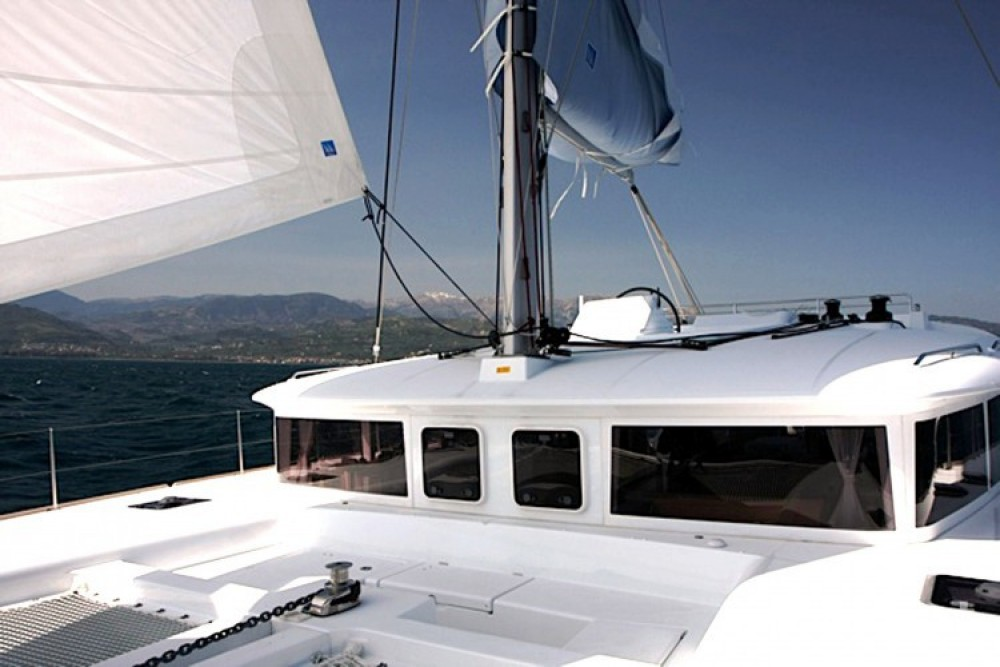 Hire Catamaran with or without skipper CNB Lefkada