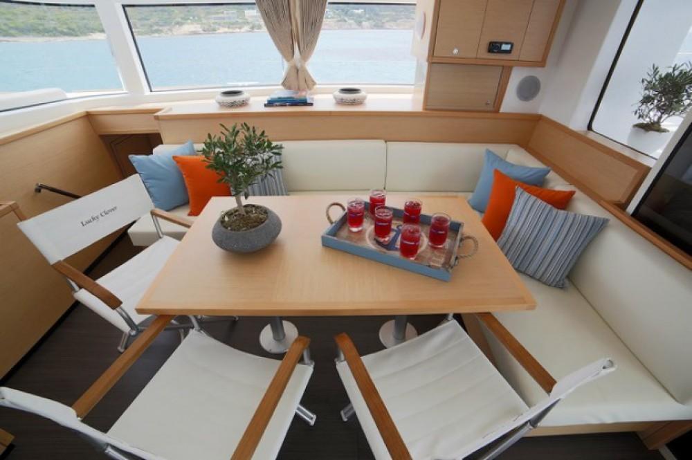 Boat rental Athens cheap Lagoon 52 F