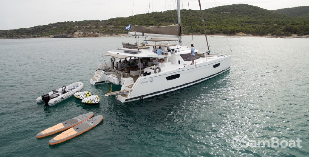 Fountaine Pajot Berret between personal and professional Atene