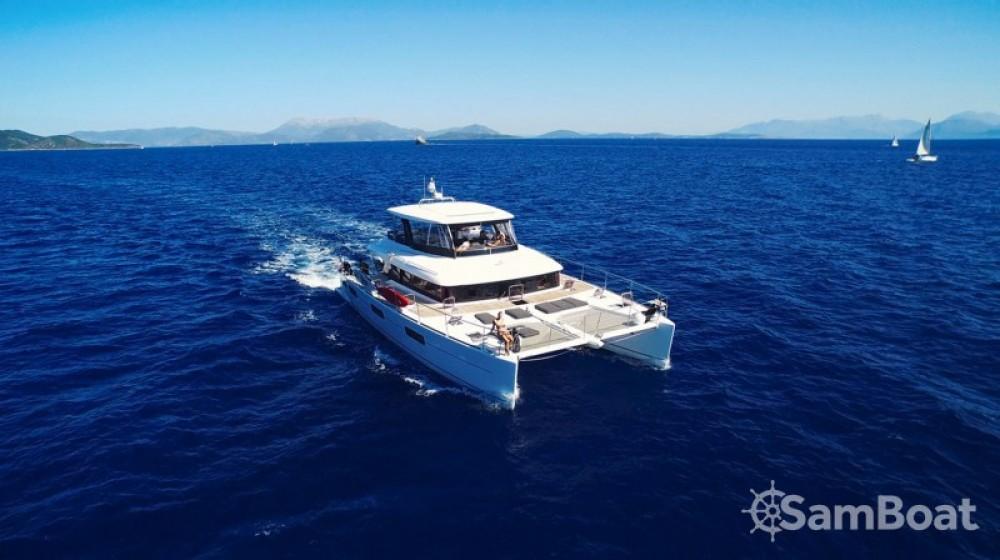 Rental yacht Mykonos - Lagoon Lagoon 630 Motor Yacht on SamBoat