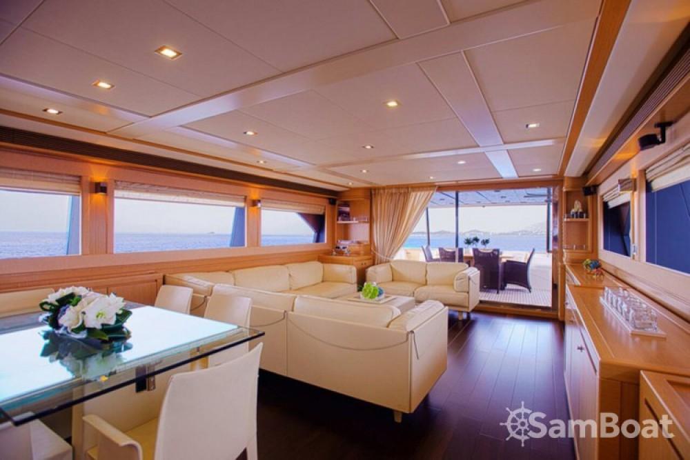 Rental Yacht in Athens - Ferretti yacht