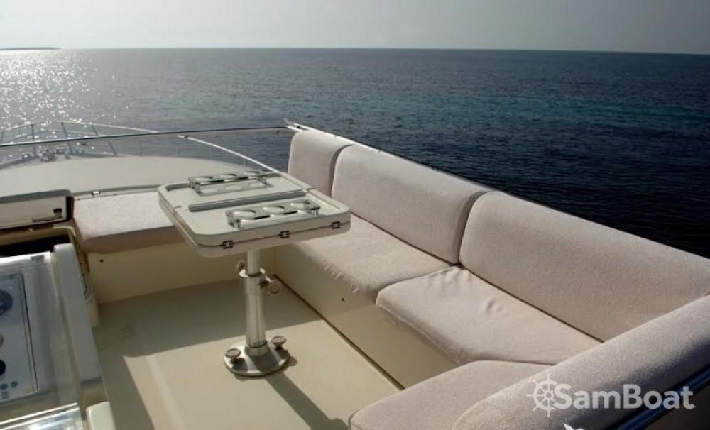 Boat rental Ibiza cheap Ferretti 175