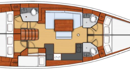 Boat rental Bénéteau Oceanis 48 in Cagliari on Samboat