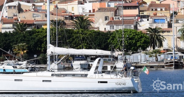 Bénéteau Oceanis 45 between personal and professional Cagliari