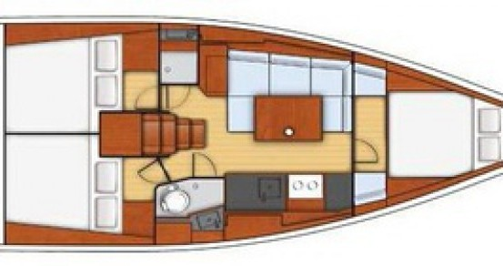 Boat rental Bénéteau Oceanis 38 in Carloforte on Samboat