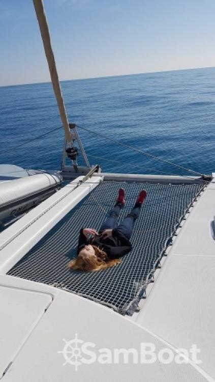 Rental Catamaran in Antibes - Lagoon Lagoon 410