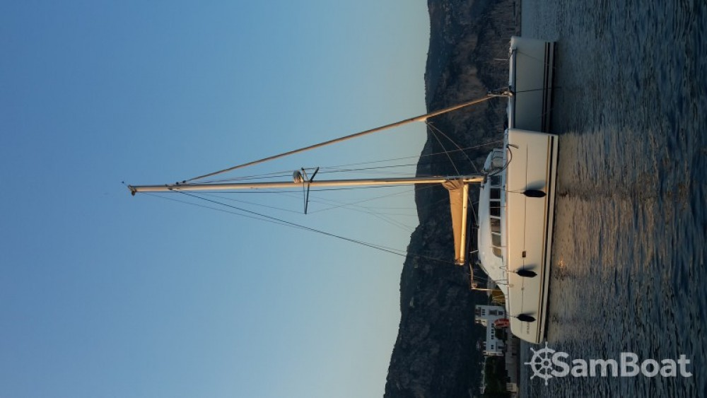 Catamaran for rent Antibes at the best price
