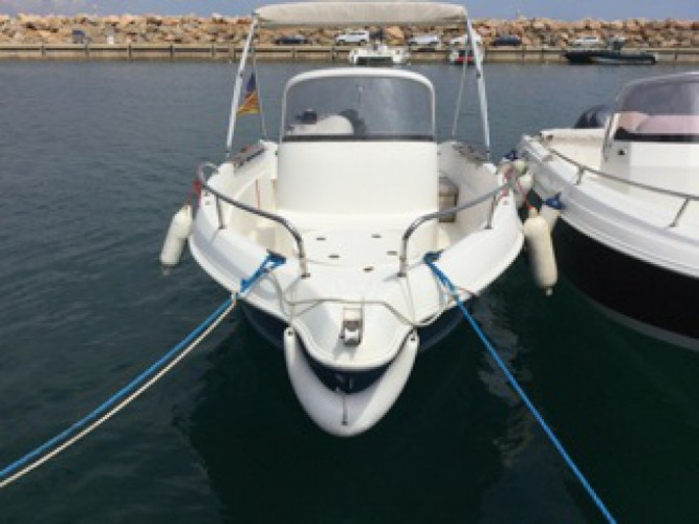 Rental Motorboat in l'Escala - Quicksilver Quicksilver 550 Commander