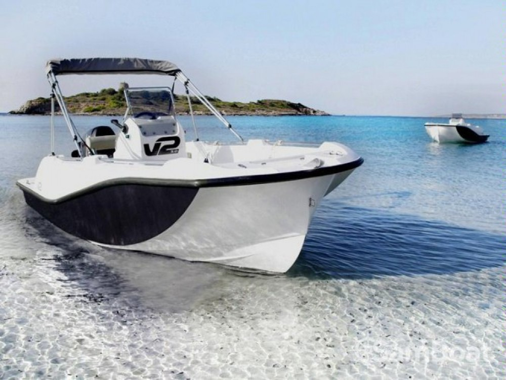 Motor boat for rent La Savina at the best price