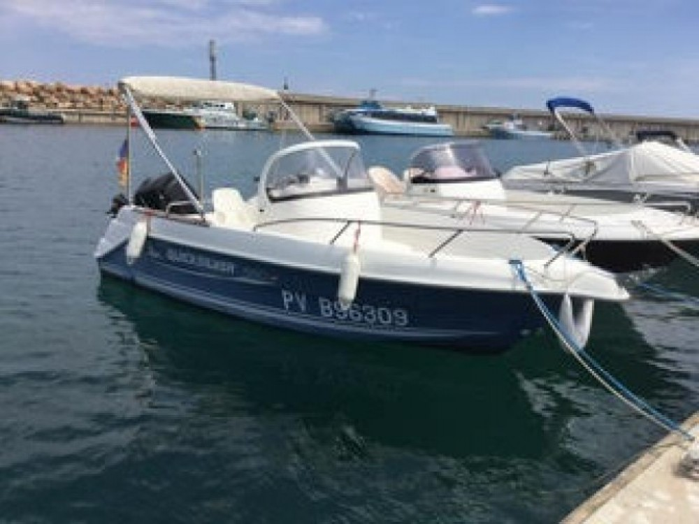 Hire Motorboat with or without skipper Quicksilver l'Escala