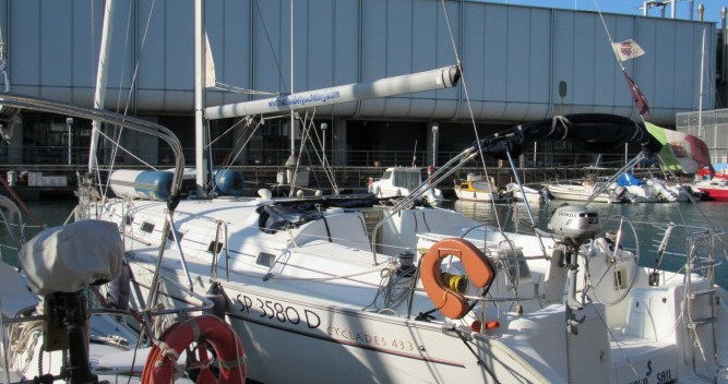 Bénéteau Cyclades 43.3 between personal and professional Genova