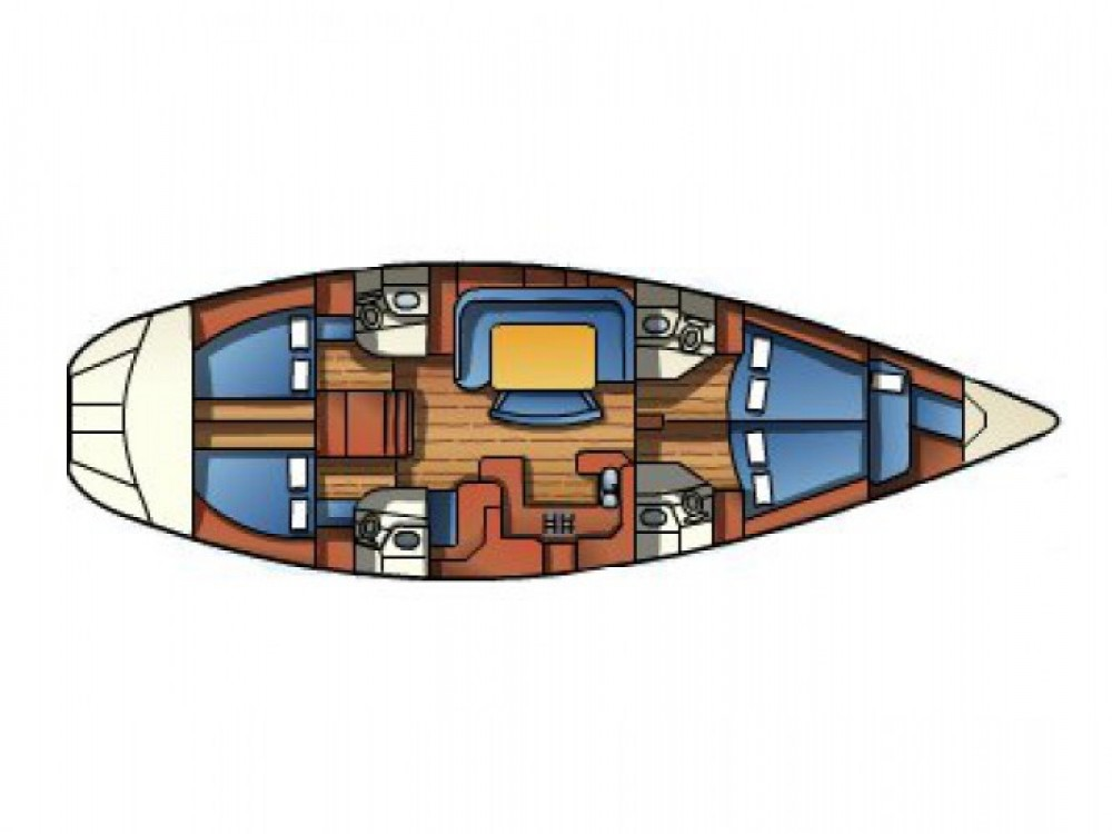 Rent a Jeanneau Sun Odyssey 52.2 Andora