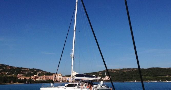 Hire Catamaran with or without skipper Alliaura-Marine Olbia