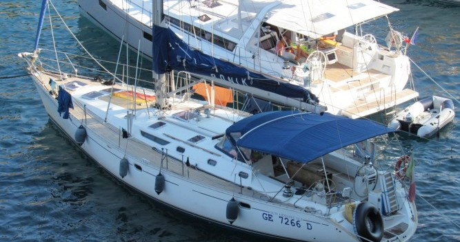 Jeanneau Sun Odyssey 52.2 between personal and professional Andora