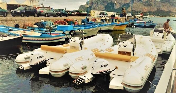 Boat rental Mondello cheap Nautica Led 540 GS
