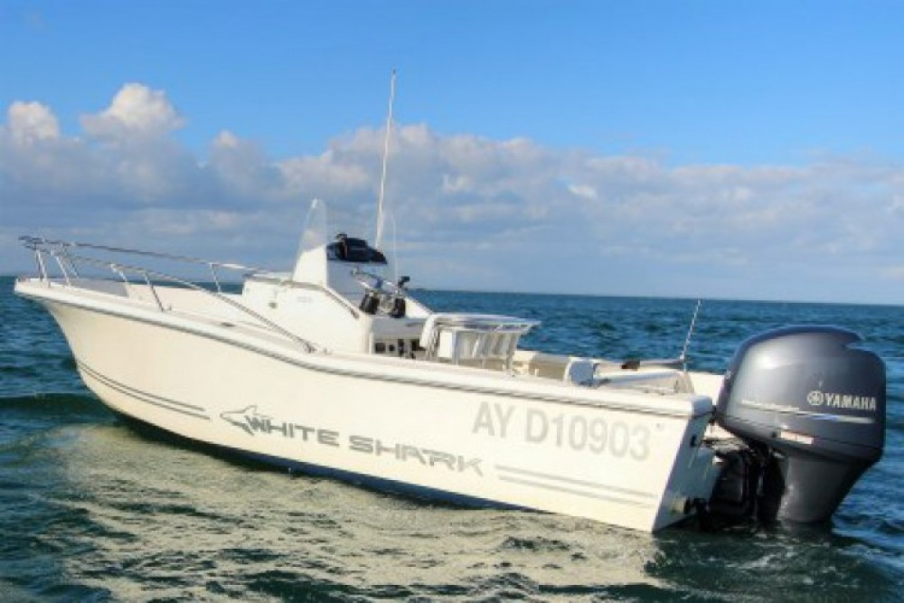 Hire Motorboat with or without skipper White Shark Quiberon