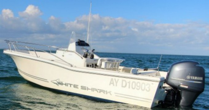 Hire Motorboat with or without skipper White Shark Port-Haliguen