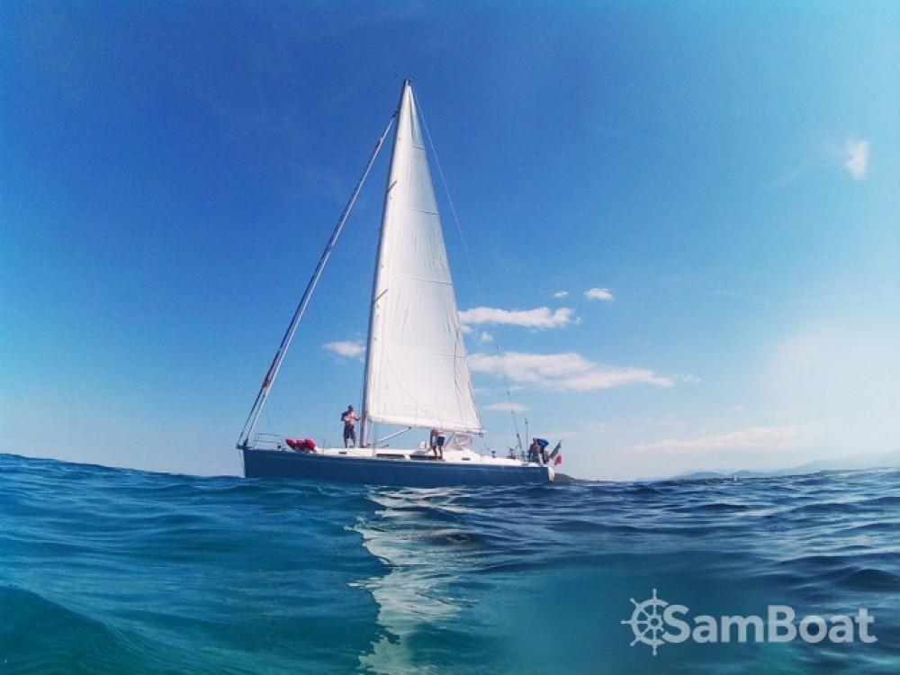 Boat rental Sardinia cheap Hanse 400